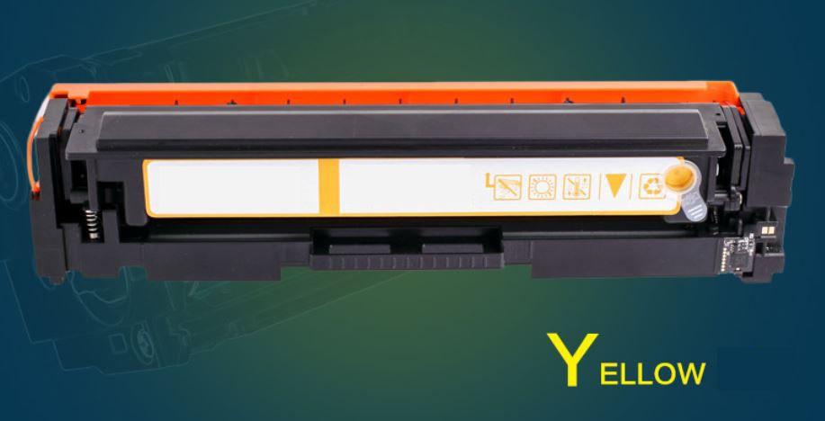 Refillable Toner cartridge (yellow) for HP M252DW