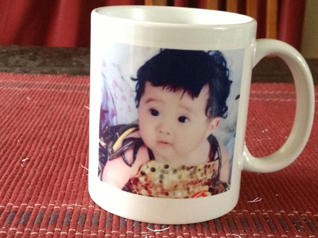 Personalised White Coffee Mug