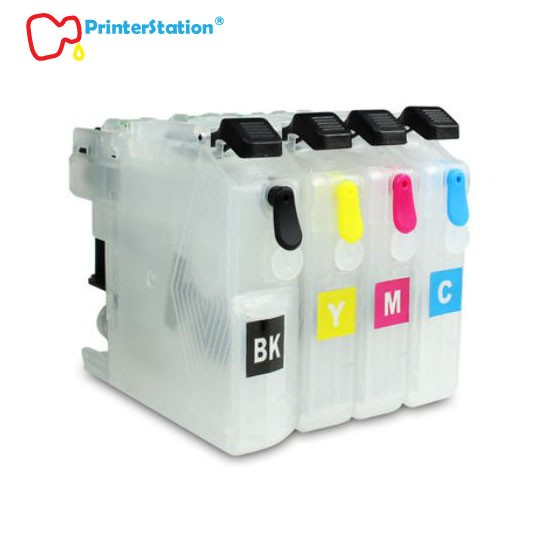 Empty Refillable Ink Cartridges for Brother MFC-J5320DW MFC-J5720DW