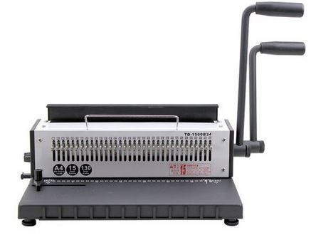 34 holes wire binding machine