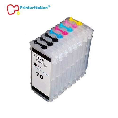 Empty Refillable Ink Cartridges for HP Designjet Z2100 Z3100 Z5200