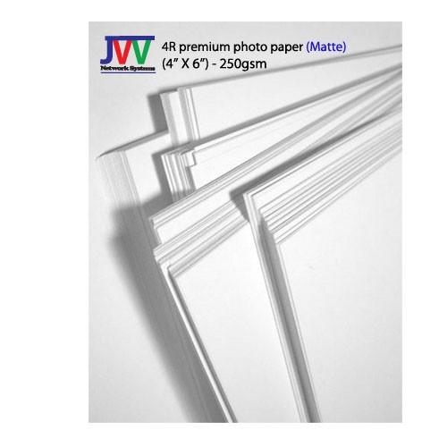 4R premium photo paper (matte)