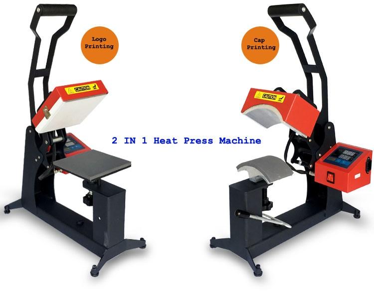Cap and Plate Heat press Machine PS-0002HHM