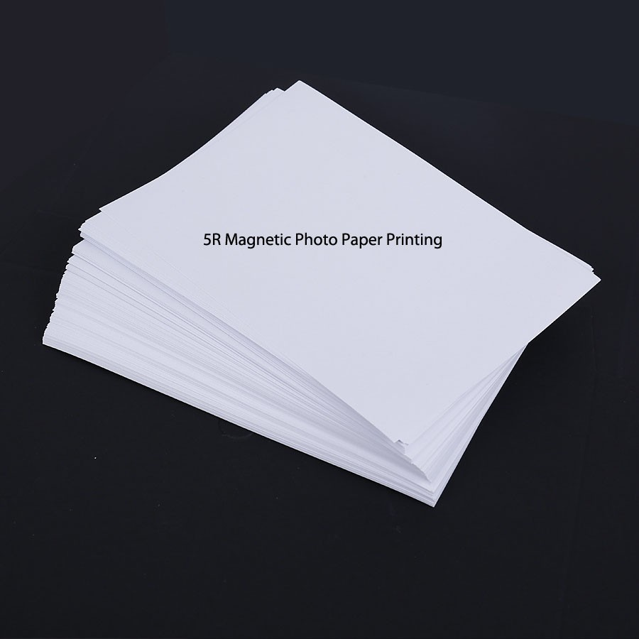 5R magnetic photo paper