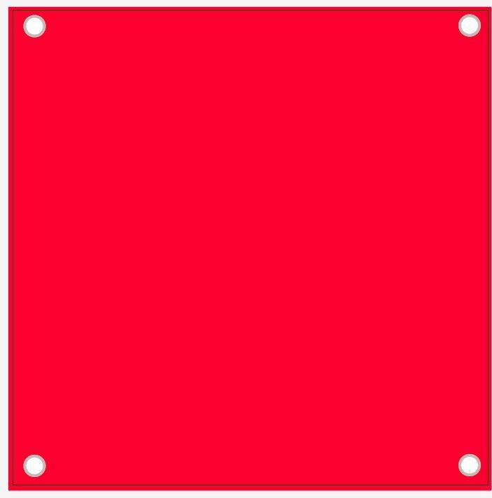 Blank Vinyl Banner -600mm X 600mm