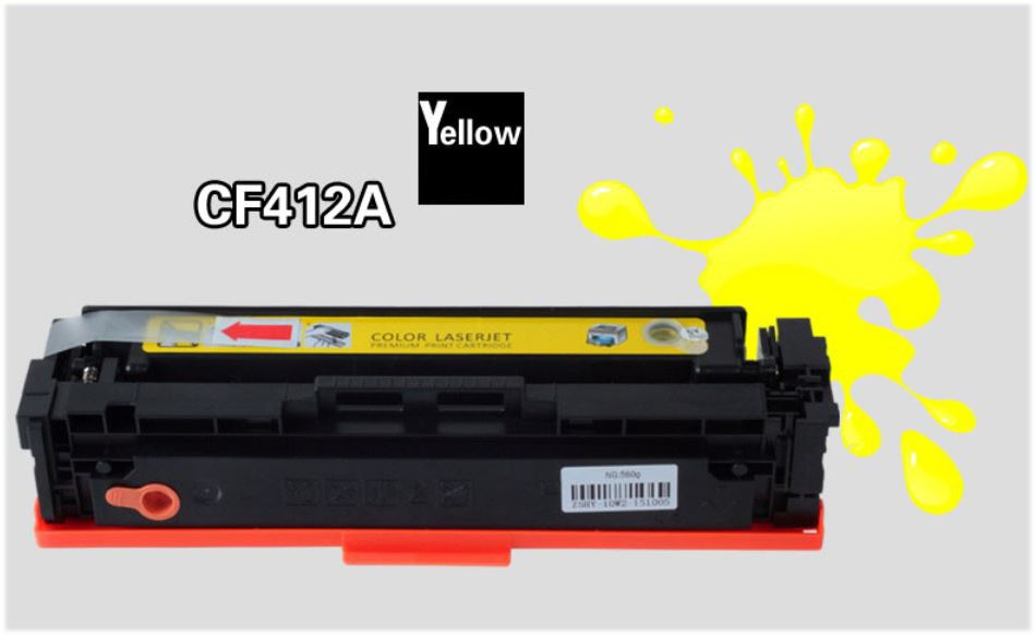 Refillable Toner Cartridge (Yellow) for HP M452DN