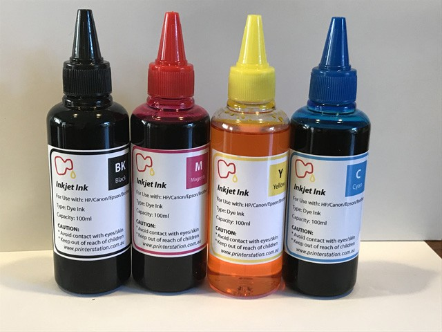 Dye ink for Epson/HP/Canon/Brother