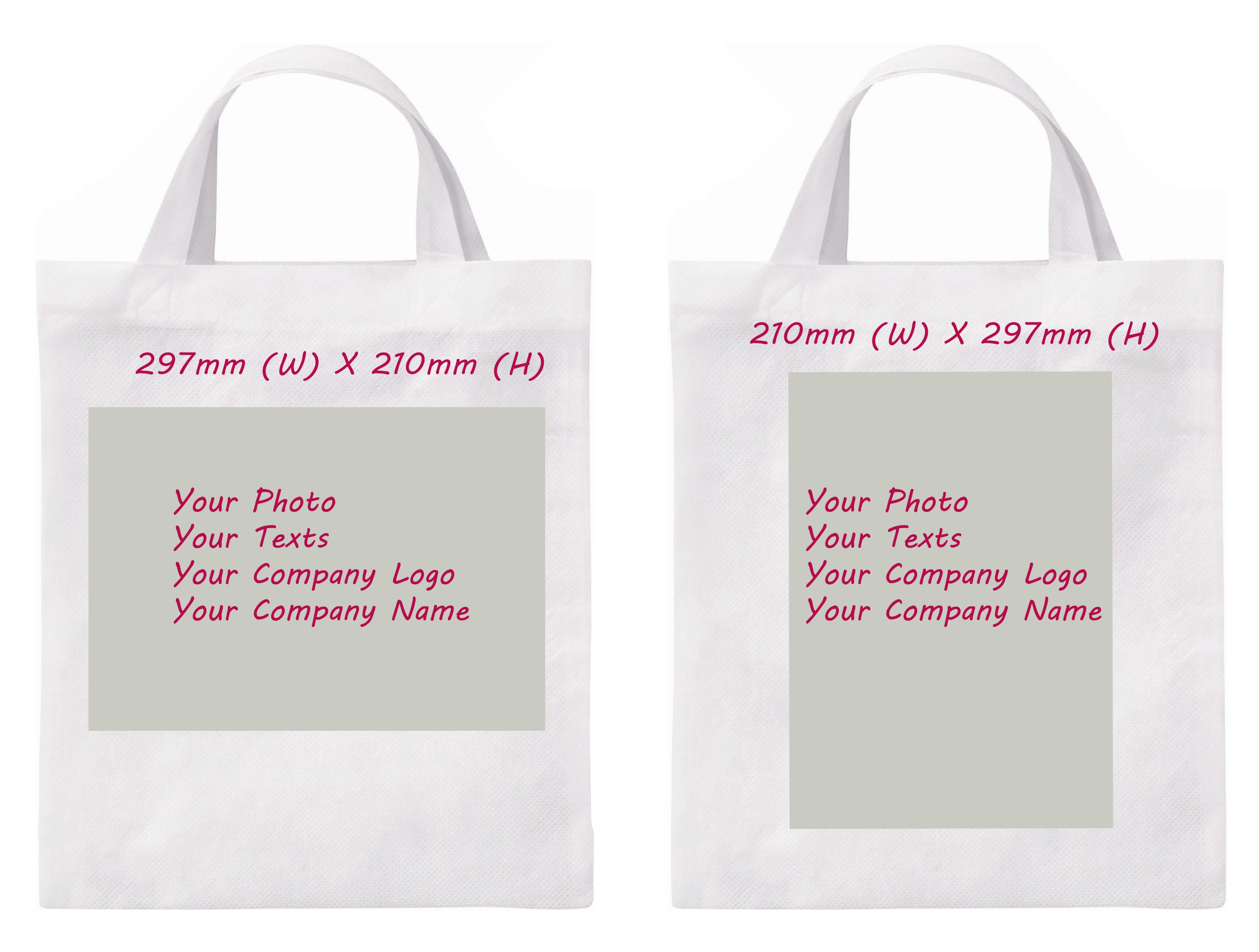 Personalised Non Woven Shopping Bag