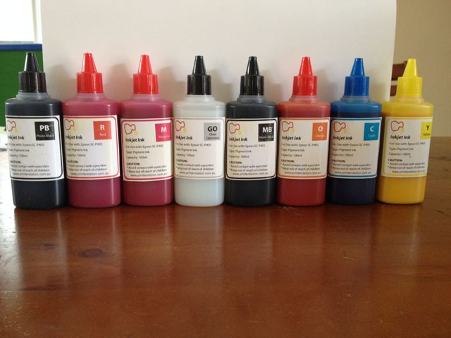 Refill pigment ink for Epson P400 P405