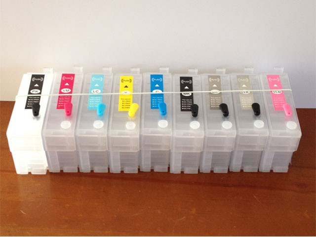 Empty Refillable Ink Cartridges for Epson SureColor SC-P600