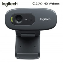 Logitech C270 Desktop and Laptop HD Webcam