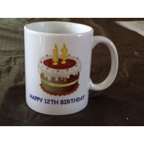 Personalised Birthday Coffee Mug