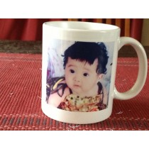 Personalised White Coffee Mug