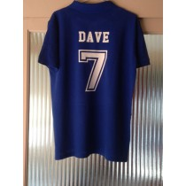 Personalised Polo Shirt with number and name