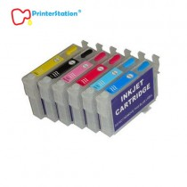 Empty Refillable Ink Cartridges for Epson T50, 1410, Artisan 1430 Suitable for 81N, 82N Ink System