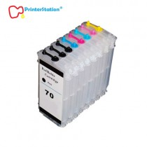 Empty Refillable Ink Cartridges for HP Designjet Z2100 Z3100 Z5200