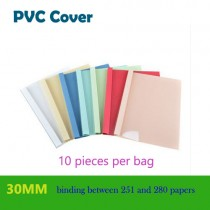 30mm A4 PVC cover