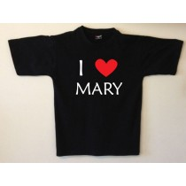Personalised Love T shirt