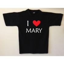 Personalised Love T shirt