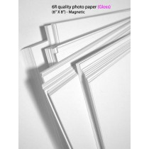 6R glossy magnetic photo paper