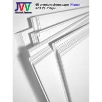 6R premium photo paper (matte)