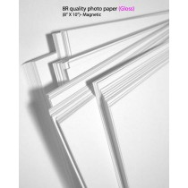 8R glossy magnetic photo paper