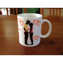 Personalised Wedding Day Anniversary Coffee Mug