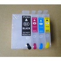Empty Refillable Ink Cartridges for WF 7710