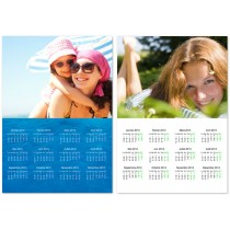 personalised A4 magnetic calendar