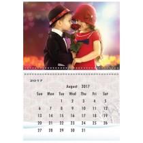 Personalised A4 calendar 2017-2018