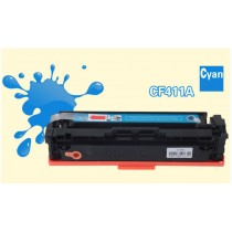 Refillable toner cartridge (cyan) for HP M452DN