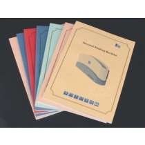 A4 color printing and binding (thermal binding)