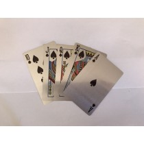 Metal Playing Card (Silver)