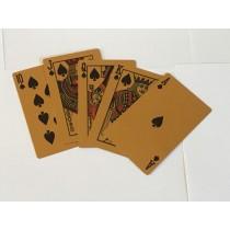 Metal Playing Card (Gold)