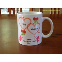 Personalised Valentine's Day 2020 Coffee Mug