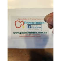 Plastic Business Card Printing (Front only)