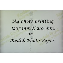 Kodak A4 photo printing