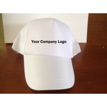 Personalised white cap