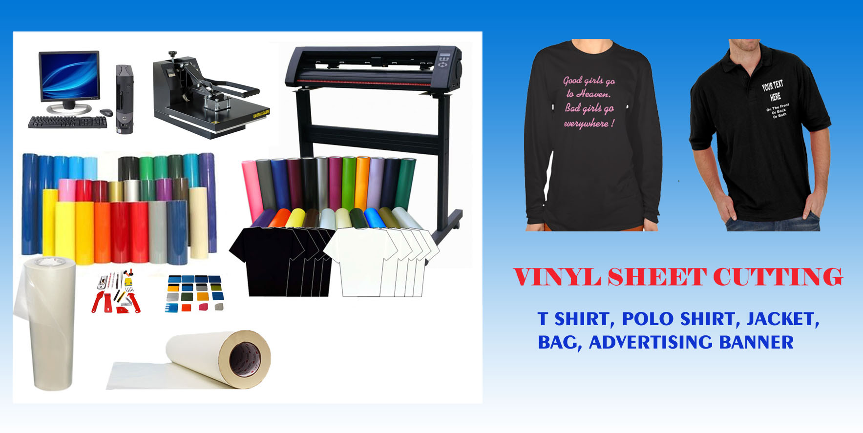 Vinyl Sheet Cutting- Click to purchase